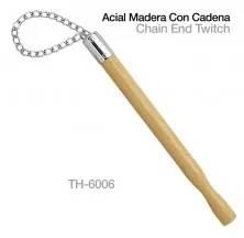 ACIAL MADERA CON CADENA TH-6006