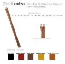 CINCHA ZALDI EXTRA MOLDEADA CUERO