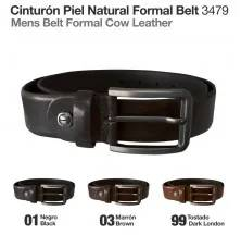 MENS BELT FORMAL COW LEATHER MLI-MB-3479