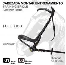TRAINING BRIDLE LEATHER REINS SD-2121