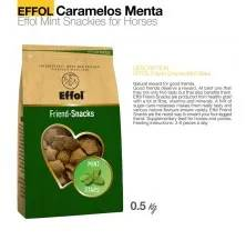 EFFOL CARAMELOS MENTA MINT SNACKIES 0.5kg