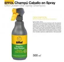 EFFOL CHAMPÚ CABALLO EN SPRAY OCEAN STAR 500ml