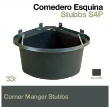 PLASTIC CORNER MANGER STUBBS S4P GREY