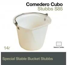 SPECIAL STABLE BUCKET STUBBS S85 WHITE