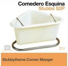 STUBBYTHEME CORNER MANGER WHITE