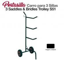 PORTA-SELAS-CARRO PARA 3 SELAS S51