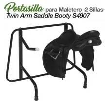 PORTA-SELAS P/MALEIRO 2-SILLAS S4907 PRETO