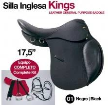 KINGS SADDLE 18. (COMPLETE) BLACK
