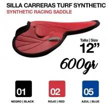 "SILLA CARRERAS TURF SYNTHETIC 12"" (600gr) NEGRO"
