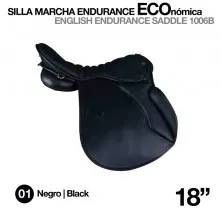 "ENGLISH ENDURANCE SADDLE 1006B 18"" BLACK"
