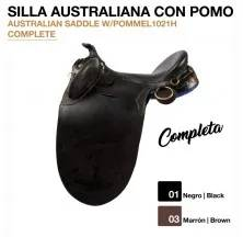SILLA AUSTRALIANA CON POMO (COMPLETA)