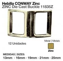 ZINC DIE CAST BUCKLE NP 11835Z (12pcs)