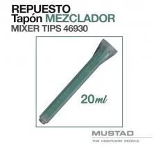 MUSTAD: REPUESTO TAPÓN MEZCLADOR 46930 20ml.