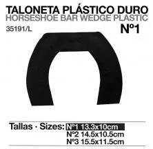 TALONETA PLÁSTICO DURO 35191 UNIDAD