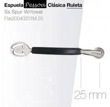 ESPUELA PESSOA CLÁSICA RULETA PAS20040201M 25mm