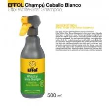 EFFOL CHAMPÚ CABALLO BLANCO WHITE STAR 0.5l