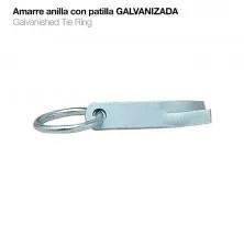 AMARRE ANILLA CON PATILLA GALVANIZADO