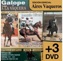 DVD + BOOK PACK: VAQUERA