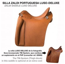 ZALDI SADDLE LUSO DELUXE
