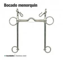 BOCADO MENORQUÍN INOX.2125212-50X81 12.5cm