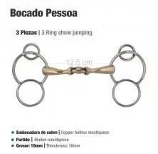 BOCADO PESSOA 3-PIEZAS & ARILLOS