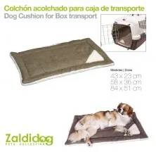 DOG CUSHION FOR TRANSPORT BOX JOURNEY