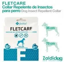 CÃO COLEIRA REPELENTE INSECTOS FLETCARE 35cm