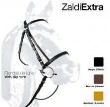 CABEZADA ZALDI EXTRA 01 RIENDAS LONA