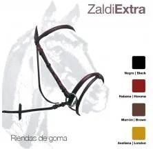 CABEZADA ZALDI EXTRA 204 RIENDAS GOMA