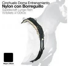 CINCHUELO DOMA ENTRENAMIENTO NYLON CON BORREGUILLO