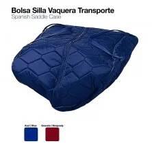 BOLSA SILLA VAQUERA TRANSPORTE GRANATE 44911BW