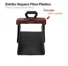 ESTRIBO VAQUERO FIBRA PLÁSTICO FORRADO