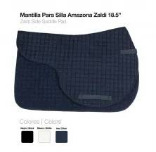 "MANTILLA PARA SILLA AMAZONA ZALDI 18.5"""